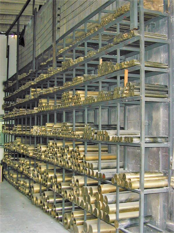 Distribuidores de bronze