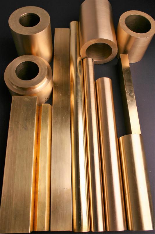 Fabricação de peças em bronze